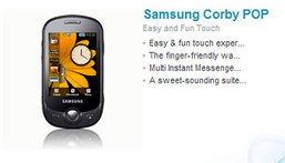 Samsung C3510 Corby Pop สัมผัสมาตรฐานใหม่มือถือทัช ถูกลงกว่าเดิม