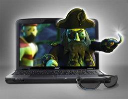 Acer Aspire 5738DG Notebook 3D เครื่องแรกของโลกจาก ACER