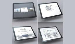 เผยโฉมอินเตอร์เฟซของ Google Pad