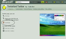 เปลี่ยนสี Windows 7 Taskbar