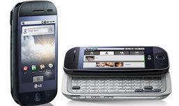 แอลจี เผยโฉมแอนดรอยด์โฟนรุ่นแรก 'LG GW 620 Android'