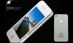 "iPhone 4 ไฮโซรุ่น""ขอบทอง-ฝังเพชร"""