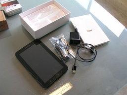 แกะกล่อง ลองใช้ Samsung Galaxy Tab ตัวจริง