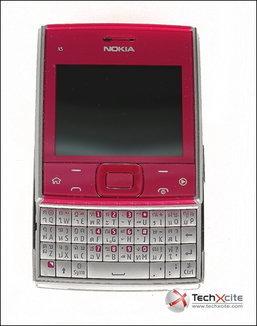 Nokia X5 มือถือจิ๋วดีไซด์เก๋...สวยใสถูกใจขาChat
