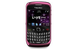 BlackBerry Curve 3G ปล่อยสีชมพู รับวาเลนไทน์