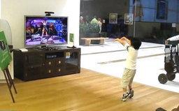 เด็ก 6 ขวบโชว์สเต็ปเกมส์ Xbox Kinect