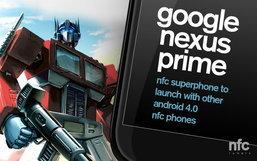 Google Nexus Prime สมาร์ตโฟนแอนดรอยด์ 4.0