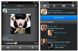 RIM เปิดตัว BBM Music อย่างเป็นทางการแล้ว