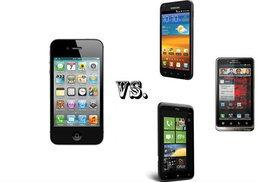 เปรียบมวย iPhone 4S กับ SmartPhone สามรุ่นเด็ดที่มีความสามารถพอฟัดพอเหวี่ยงกัน