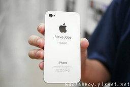 ไอเดียเยี่ยม! เปลี่ยน iPhone 4 ให้เป็น iPhone for Steve!