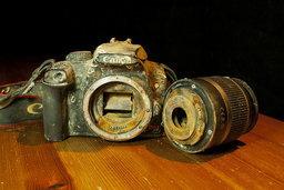 Canon EOS 1000D ตกทะเลหายไปร่วมปี กลับมาเจอเจ้าของได้อีกครั้งด้วย Google+!