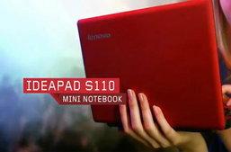 Lenovo IdeaPad S110 เน็ตบุ๊กขุมพลัง Intel Atom แพลตฟอร์ม Cedar Trail