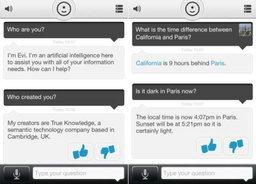 "Evi แอพฯ คู่แข่งที่""ฉลาด""กว่า Siri"