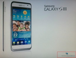 บริษัทพีอาร์ ทำภาพ Samsung Galaxy S3 หลุด