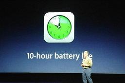 new iPad ชาร์จแบตฯ ไม่เต็ม แต่ว่า...