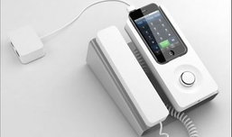 เปลียนไอโฟนเป็นโทรศัพท์บนโต๊ะทำงาน