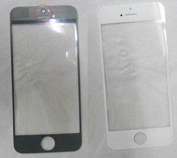 ยลโฉม ชิ้นส่วนแผงด้านหน้าสีขาวของ iPhone รุ่นใหม่