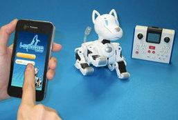 หุ่นยนต์น้องหมาควบคุมด้วยสมาร์ทโฟน