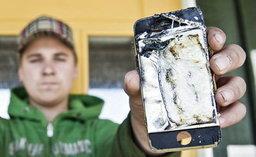 iPhone 4S ระเบิดอีกแ้ล้ว (ภาพ+คลิบ)
