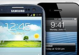 เปรียบเทียบขนาด iPhone 5 กับ Samsung Galaxy S3 ศึกช้างชนช้าง!