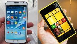 Galaxy Note 2 กับ Lumia 920 เลือก?