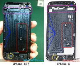 ซี๊ด!!! ภาพหลุด iPhone 5S โผล่แล้วอ่ะ