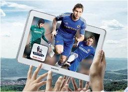 Samsung Galaxy ให้คุณดูของดี ฟุตบอลพรีเมียร์ลีกแบบ ฟรีๆ