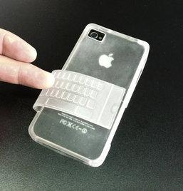 ว้าว!เคส iPhone ปุ่มใสพับได้จิ้มสะดวก