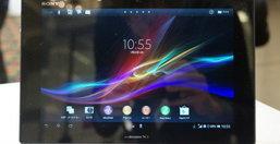 Sony Xperia Tablet Z แท็บเล็ตรุ่นล่าสุด ที่กันน้ำกันฝุ่นและบาง 6.9 มิลลิเมตรมาพร้อมซีพียู Quad-Core