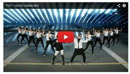 Gentleman ซิงเกิ้ลใหม่จาก PSY (ไซ) ทะยานสู่อันดับหนึ่ง Youtube
