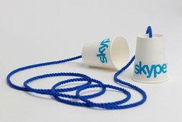 ข้อความจาก Skype ไม่เป็นส่วนตัว?