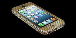 iPhone 5 ทองคำฝังเพชร ราคาร่วม 3 ล้านบาท