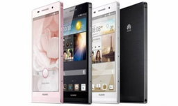 Huawei ปล่อย Ascend P6 มือถือบางที่สุดในโลก