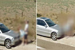 รวมรูปหลุด ถ่ายได้จากกล้อง Google Street View อย่าเผลอเชียว