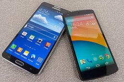 เปรียบเทียบ สเปค Samsung Galaxy Note 3 vs Nexus 5
