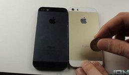 ทดสอบ กรอบหลัง iPhone 5S (ไอโฟน 5S) สีทอง ทนรอยขีดข่วนหรือไม่ ?