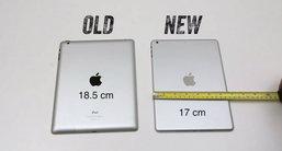 เผยคลิปวิดีโอ เปรียบเทียบ iPad 5 vs iPad 4 ยืนยัน ดีไซน์คล้าย iPad mini จริง