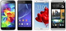 เทียบสเปคเรือธง!! Samsung Galaxy S5 ชน Android สามรุ่นใหญ่