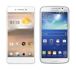 เปรียบมวยสมาร์ทโฟน 2 ซิมจอใหญ่ระหว่าง OPPO R1 และ Galaxy grand 2