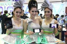[พาชม] สาวน้อยพริตตี้ ภายในงาน Thailand Mobile EXPO 2014 Hi-End