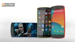 ชมคอนเซปท์ Nexus 6 มาพร้อม หน้าจอโค้ง และตัวเครื่องสีสันสดใส
