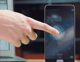 Samsung Galaxy S5 มาพร้อม เซ็นเซอร์สแกนลายนิ้วมือ ทั้งหน้าจอ !!