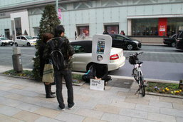 จริงดิ! หนุ่มญี่ปุ่นสุดคลั่ง iPhone มานั่งรอคิว iphone 6 แล้ว