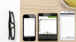 Blackberry ฟุ้ง! มือถือ Passport เจ๋งกว่า Galaxy S5
