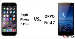 เปรียบเทียบประสิทธิภาพ iPhone6 plus VS  OPPO Find7!!