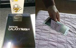 Samsung ชี้ ปัญหาช่องระหว่างจอบน Note 4 ไม่ใช่ความผิดพลาดแต่อย่างใด
