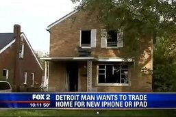 """อึ้ง หนุ่มหมดปัญญา ประกาศเสนอ""""แลกบ้าน กับ""""ไอโฟน 6"""" หลังขายไม่ออก"""