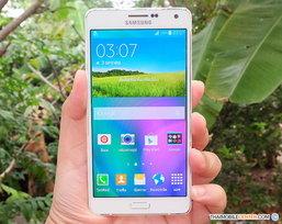 สัมผัสแรกกับ Samsung Galaxy A7 สมาร์ทโฟน 4G ดีไซน์ All-Metal Unibody รุ่นใหญ่