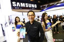 """ซัมซุงพร้อมรับความแรง """"กาแลคซี่ เอส 6"""" จัดทัพสมาร์ทโฟน แท็บเล็ตรุ่นล่าสุด"""