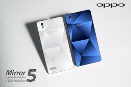 [รีวิว] OPPO Mirror 5 สมาร์ทโฟนดีไซน์หรู ด้วยพื้นผิวด้านหลังแบบกระจกคริสตัล